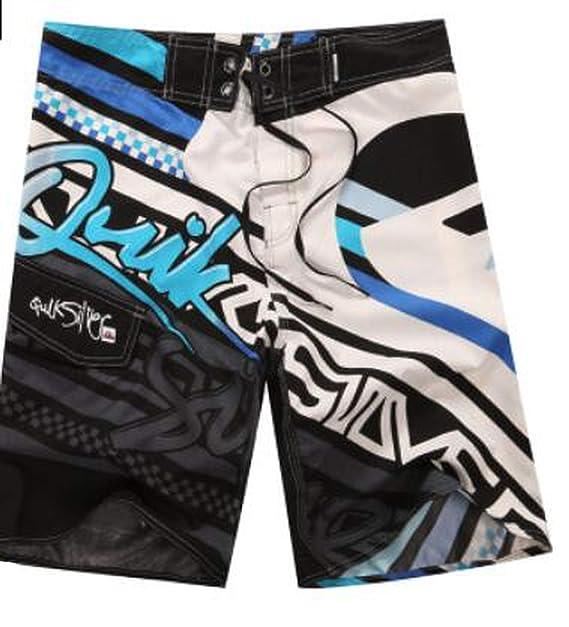 df0c2104a8b04 Amazon.com: Beach Men Shorts Swimming Bermuda Masculina surf Board Shorts  Sports Beach Pants,6,36: Clothing