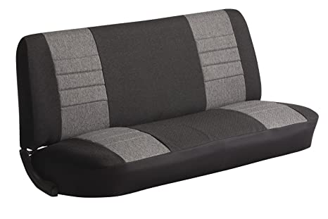 Astonishing Fia Oe34 Gray Universal Fit Truck Bench Seat Cover Gray Ncnpc Chair Design For Home Ncnpcorg
