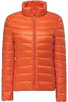 Faston ライト ダウン ジャケット レディース 超軽量 カジュアル 防寒 防風 暖かい 秋 冬 ウルトラライト ジャケット コートNK002