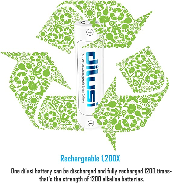 Dilusi I4 Batterieladeger/ät Akku Ladeger/ät Universal NI-MH NI-Cd A AA AAA AAAA C-Batterie Lithium-Ionen IMR INR ICR Batterie Akku Akkus Accu Lithium Batterien