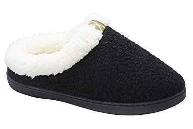 c33ed087283a2d Slippers for Women Men Cozy Memory Foam Wool-Like Plush Fleece House Shoes  Furry Indoor
