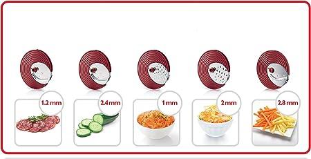 Philips Accesorio para ensaladas HR1387/80 HR1387/80-Picadora, De ...