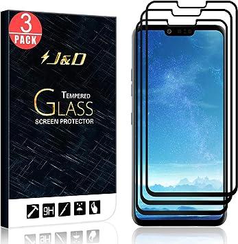 J&D Compatible para 3-Pack LG G8 ThinQ/LG G8 Protector de Pantalla ...