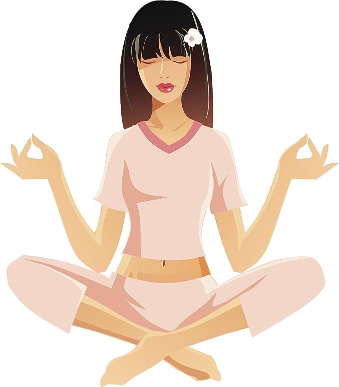 Amazon.com: Pretty Zen Asia Pacífica Yogi Yoga en rosa Pjs ...