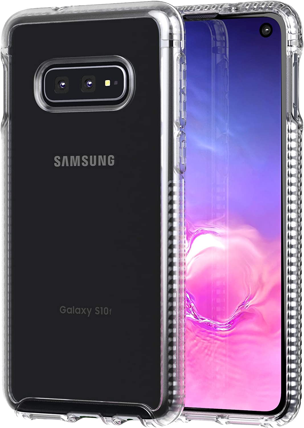 tech21 Pure Clear for Samsung Galaxy S10e - Clear - Mobile Phone Case with Near Perfect Transparency - Ultra-Thin Cellphone Case - Phone Casing for Drop Protection of 6.6FT or 2M