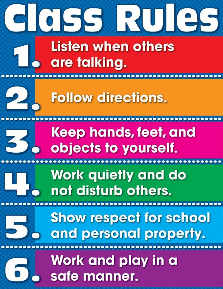 Carson Dellosa Class Rules Chart (114080) by Carson-Dellosa (Image #1)
