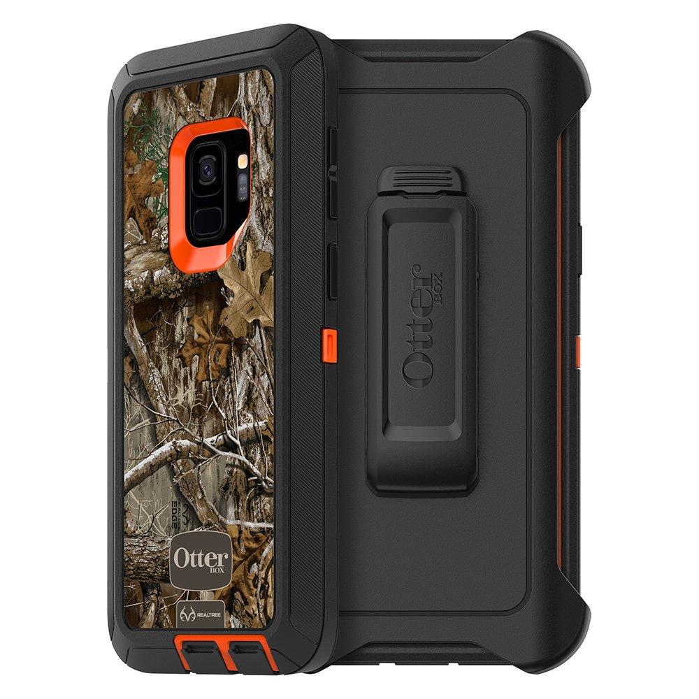 BLAZE ORANGE//BLACK//RT EDGE GRAPHIC OtterBox DEFENDER SERIES Case for Samsung Galaxy S9 Retail Packaging RT BLAZE EDGE