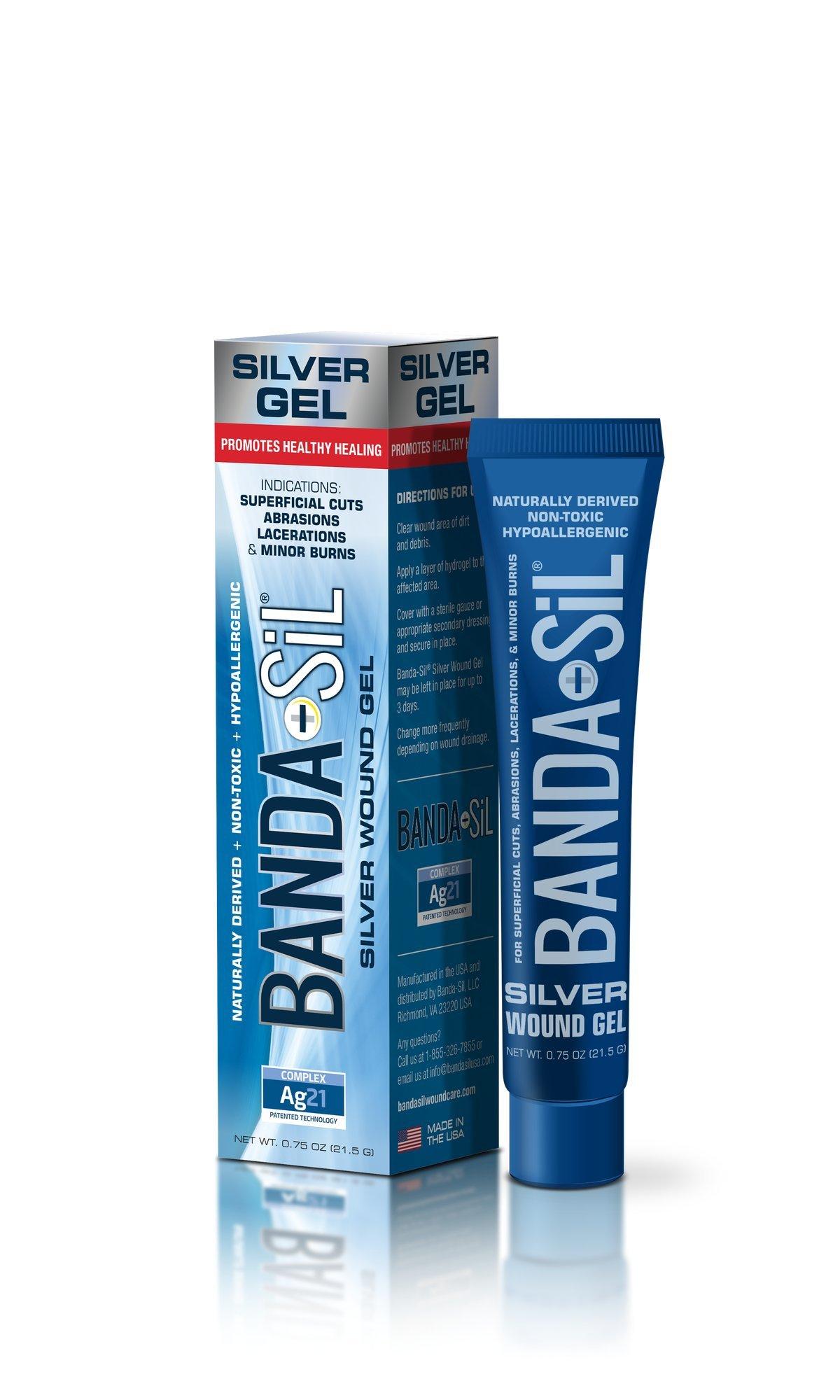 BANDA-SiL Silver Wound Care Gel, 0.75 oz by BANDA-SiL® (Image #2)