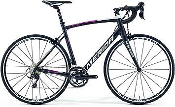 Merida Ride 400 - Bicicleta de carreras de 28 pulgadas, color negro ...