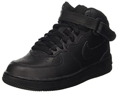 b35e81c793 Amazon.com: Nike Air Force 1 Mid (GS), Unisex Adults' Air Force 1 ...