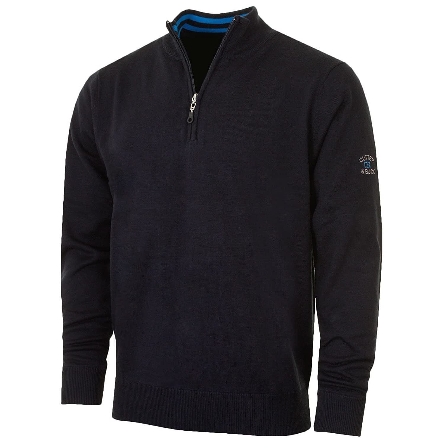 Cutter & Buck 2016 Mens Lined Vancouver WindBlock Sweater - Navy - S