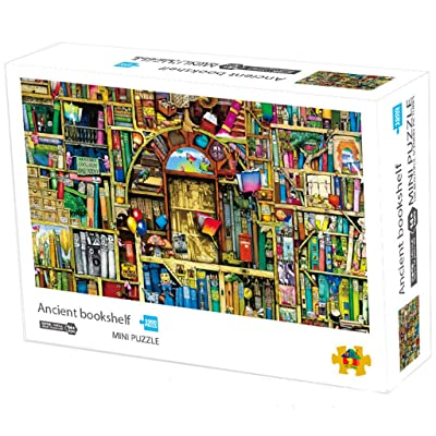 UOFOCO 1000 Pieces Jigsaw Puzzle for Adults and Kids, Wooden Jigsaw Puzzles DIY Puzzle Game Challenge Educational Toys: Toys & Games