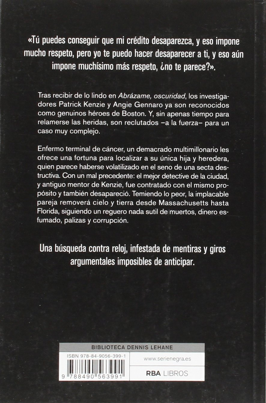 LO QUE ES SAGRADO SER-NEGRA R.B.A.: DENNIS LEHANE : 9788490563991: Amazon.com: Books