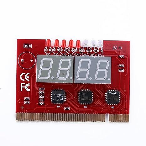 LED de 4 dígitos placa base PC LPT Laptop placa base Post ...