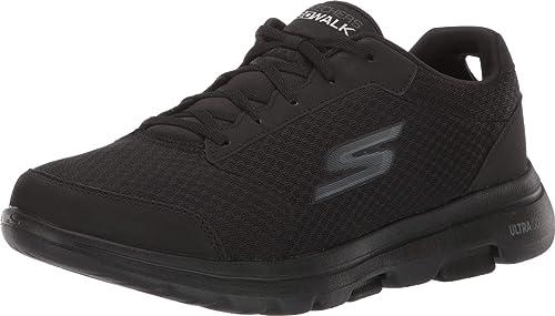 SKECHERS Men's GOWalk 5 Qualify Mesh Lace Up Sneakers