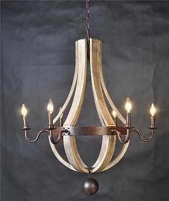 wine barrel lighting. Vintage French Country Wood Metal Wine Barrel Chandelier Pendant Rustic Castle Estate Lighting E