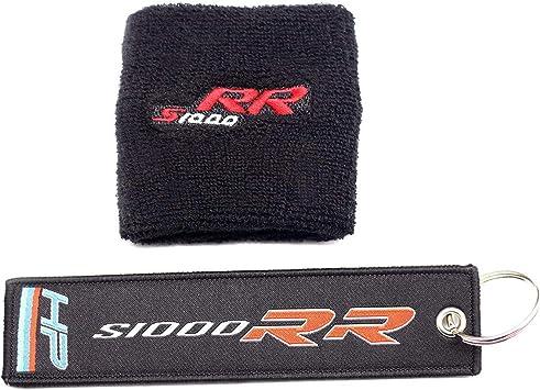 Front Brake Reservoir Socks Carbon Look Tank Pad For Honda-Kawasaki-Suzuki