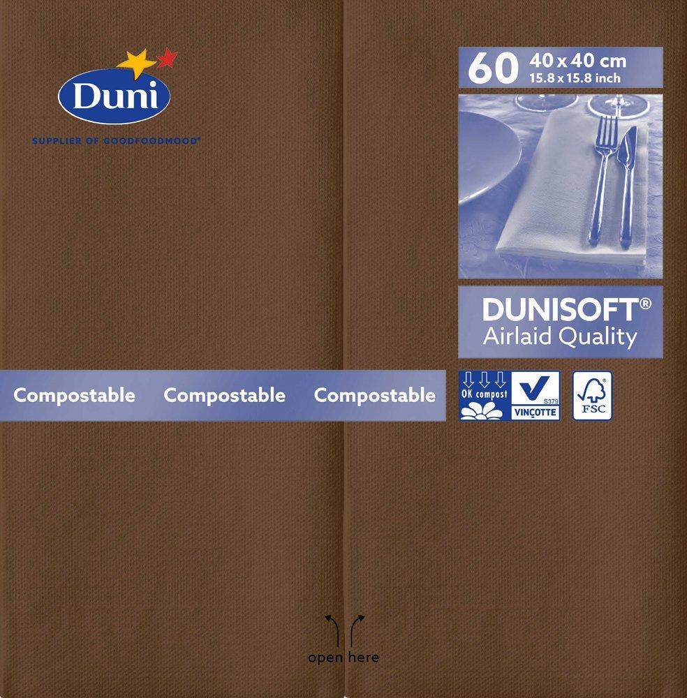 Gris granite Serviettes en papier pr/é-pli/ées 720 Duni