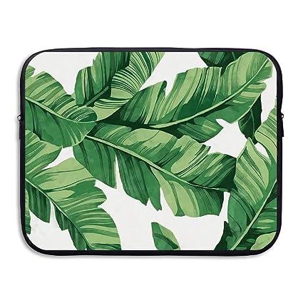 6fe2ea721086 Amazon.com: Fashion Laptop Sleeve Case Tropical Plant Banana Tree ...