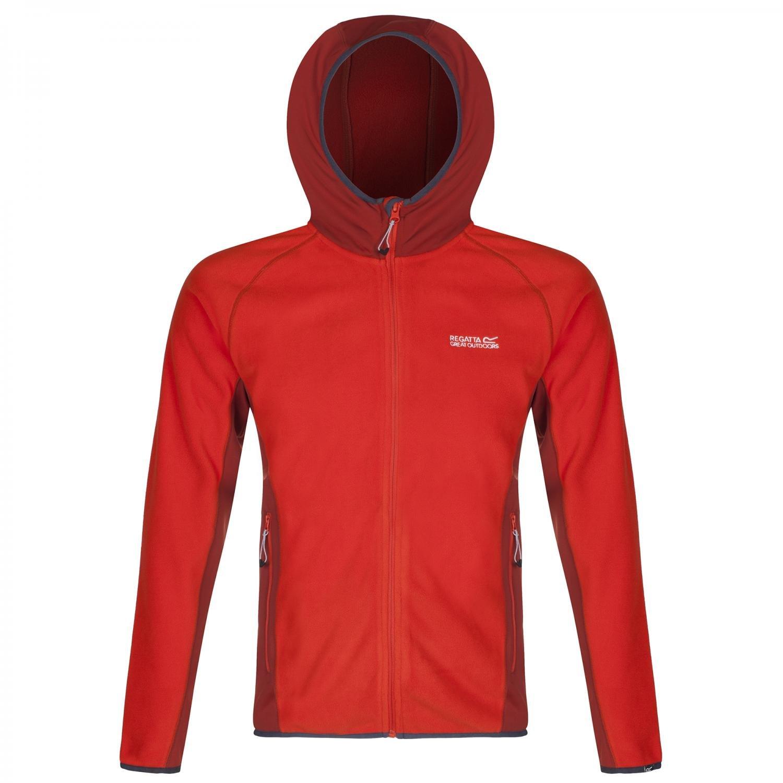 Regatta Mens Addison II Knit Effect Stretch Fleece Jacket