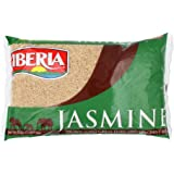 Iberia Brown Jasmine Rice, 5 Lbs Long Grain Naturally Fragrant Enriched Brown Jasmine Rice