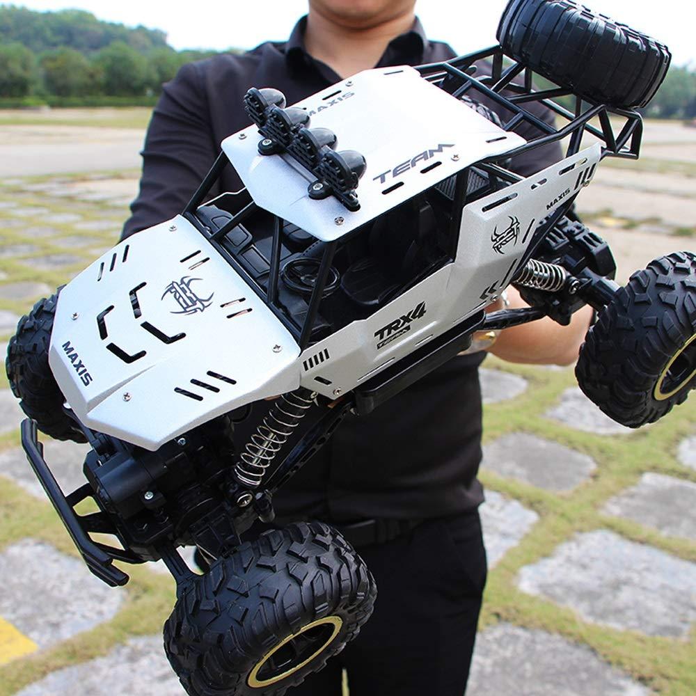 MEILA Ferngesteuertes Auto Off-Road-Rock-Fahrzeug Crawler Truck 2,4 GHz 4WD Hochgeschwindigkeits-Funkferngesteuerte Rennwagen Hochgeschwindigkeits-Gel/ändewagen Drift-Rennwagen Elektro-Rennwagen