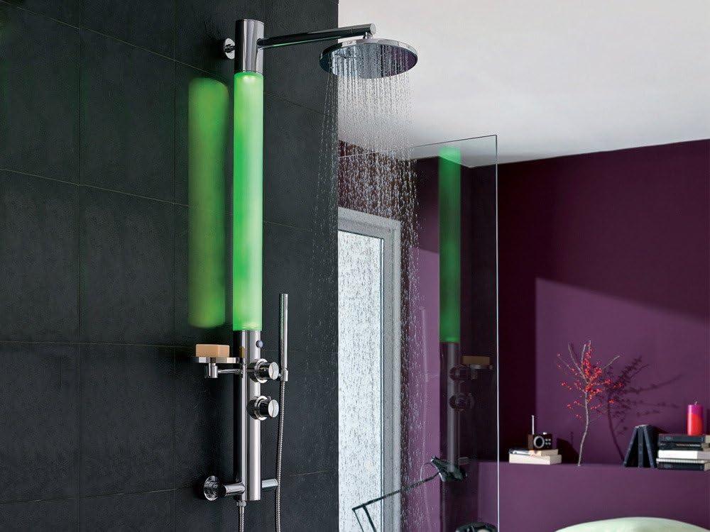 Columna de ducha luminosa Valentin ozono: Amazon.es: Bricolaje y ...
