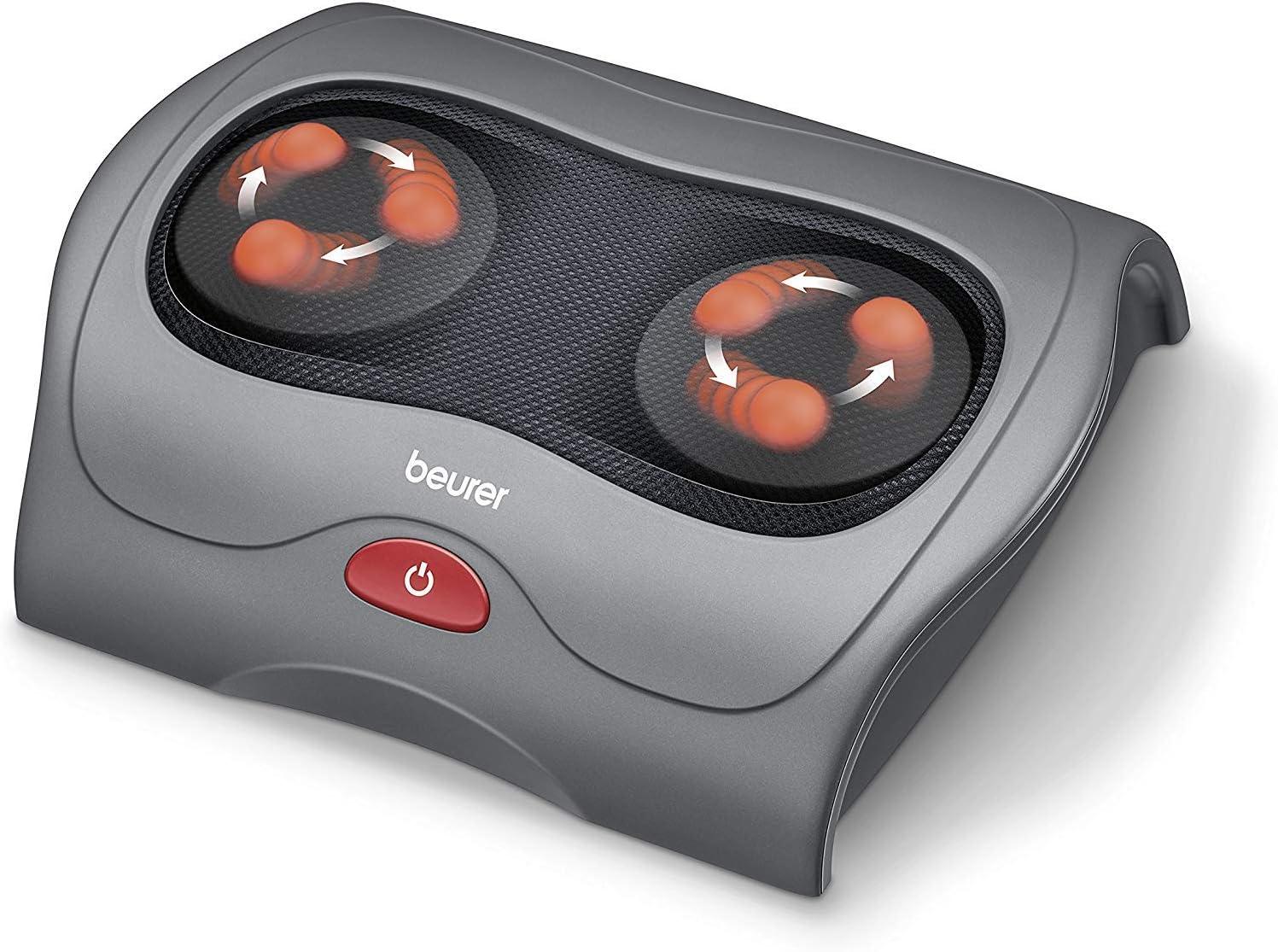 Beurer FM 39 Appareil de massage shiatsu des pieds avec fonction de chaleur et massage de réflexologie plantaire
