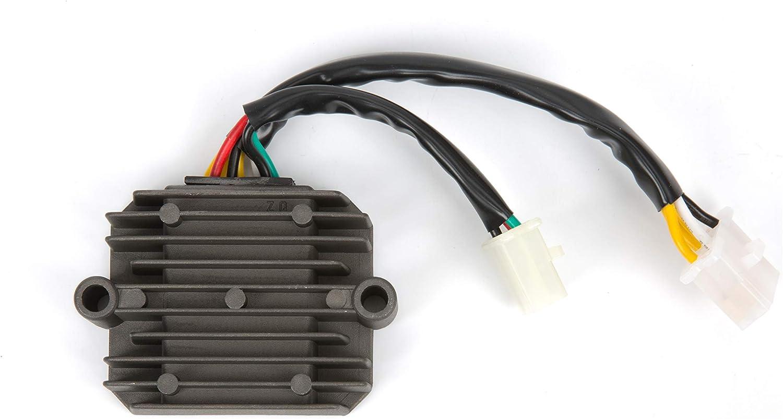 Mosfet Voltage Regulator Rectifier For Honda Motorcycles CB650 CB650C Custom CB650SC Nighthawk 627CC CBR1000F Hurricane 998CC CBX750 747CC 1979 1980 1981 1982 1984 1985 1986 1987 1988