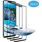 Vivicool [Lotde3]VerreTrempé OnePlus 6, Protection écran OnePlus 6, Film Protection pour OnePlus 6, Ultra Résistant Indice Dureté 9H Anti Rayures - Sans Bulles D'AIR