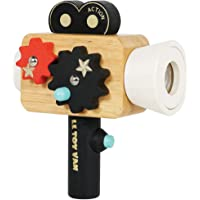 Le Toy Van - Educational Wooden Toy Hollywood Film Camera | Kids Pretend Role Play Toy - Suitable For 3 Years + (TV334)