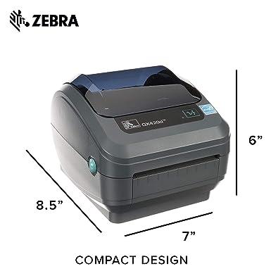 Amazon.com: Zebra GX420d Impresora térmica etiqueta Código ...