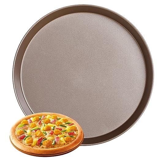 Bandejas para Horno Plato Antiadherente de la Pizza Bandeja ...