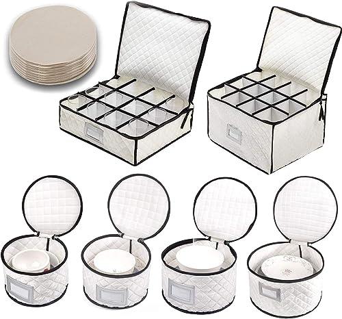 Woffit Store Complete Dinnerware Storage Set