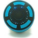 Stoga IP67 / Stereo Underwater antichoc sans fil Bluetooth étanche Haut-parleur intégré Mic pour Speakerphone avec radio FM, lecteur MP3, et multiples fonctions Couleur Lumière LED / bleu