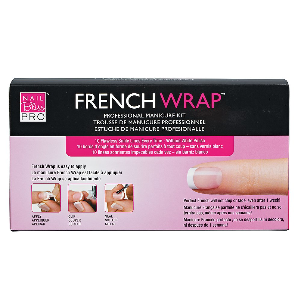 Amazon.com : Nail Bliss French Wrap - Professional Manicure Kit ...