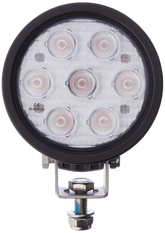 Vision X Lighting 9121451 Amber/Black 4'' Round 3W Wide LED Flood Light by Vision X Lighting