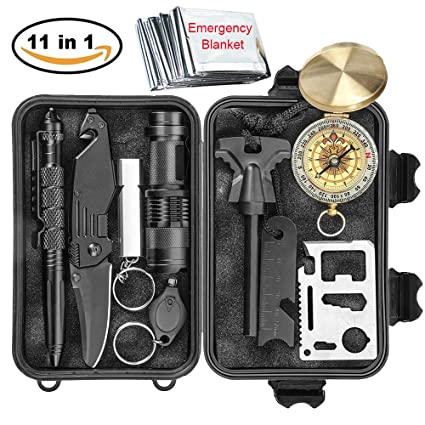 Amazoncom Survival Kit 11 in 1 Gift for Men Father Husband Dad