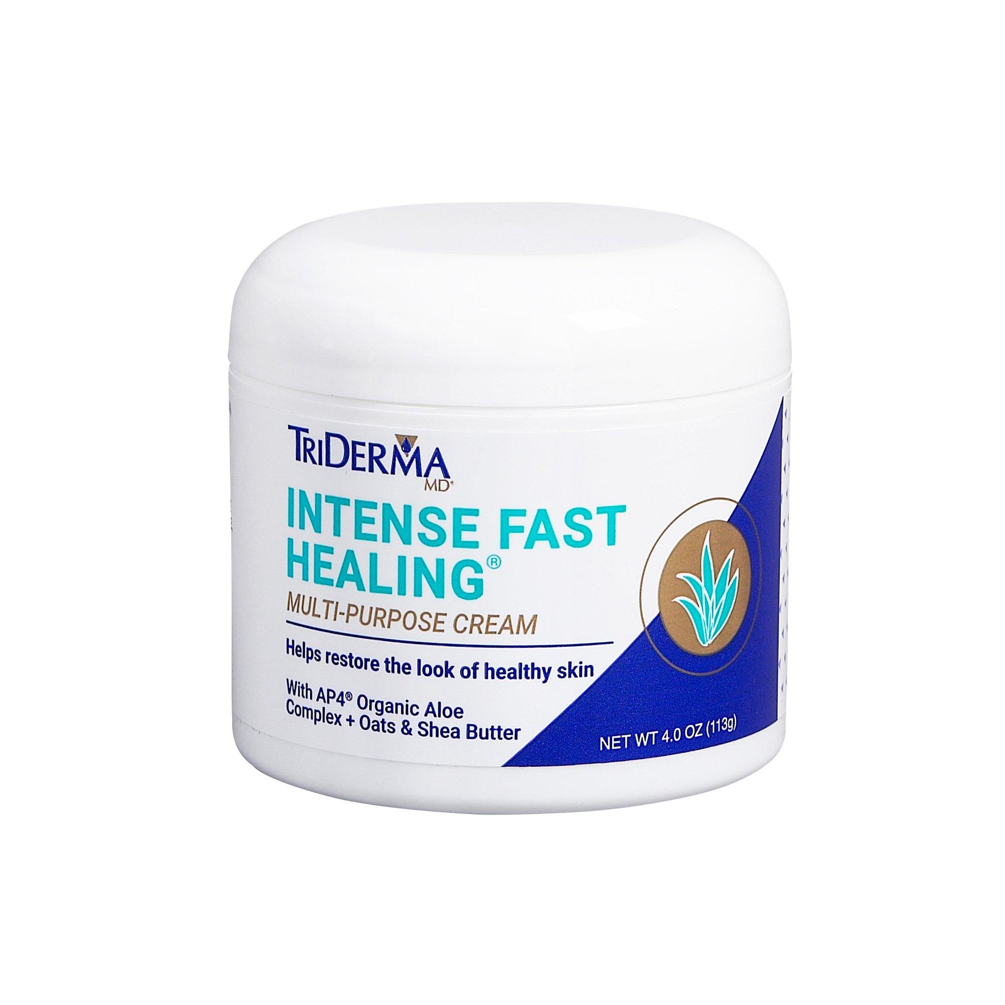 Intense Fast Healing Cream, 4 oz. by TriDerma