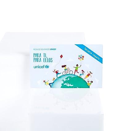 Unicef XB17034509 - Tarjeta de regalo: Amazon.es: Oficina y ...