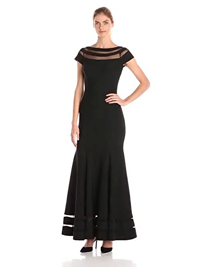 ee5fa217f6 Amazon.com  JS Collection Women s Long Ottoman Gown  Clothing