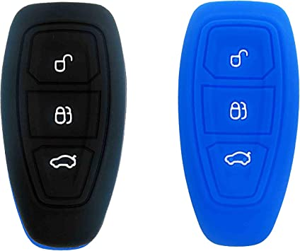 2 Shell Case For 2011 2012 2013 2014 2015 2016 Ford Fiesta Keyless Entry Remote