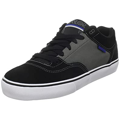 Etnies Mens M. Taylor Skate Shoe,Black/Grey,10.5 ...