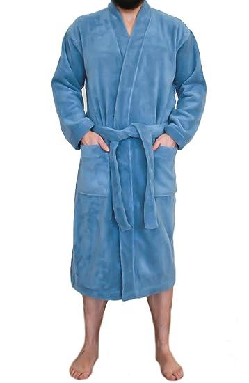 Women s and Men s Kimono Bathrobe with 100% Organic Cotton Turkish Terry  Sauna Gown Robe ( 009494303