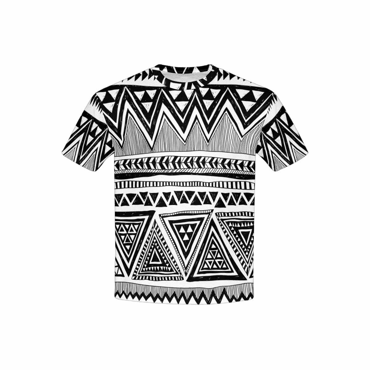 INTERESTPRINT Kids T-Shirts Ethnic Vintage Print XS-XL