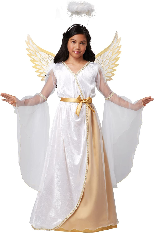 (Medium, One Color) - California Costumes Guardian Angel Child Costume, Medium