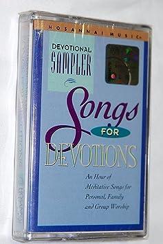 Songs for Devotions - Hosanna! Music Mass Choir (Audio Cassette) Devotional  Sampler