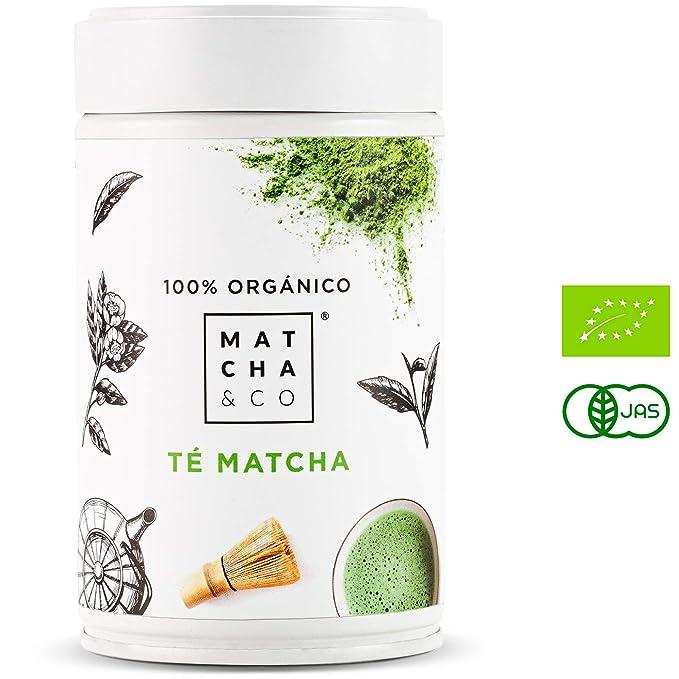 Matcha 100% Ecológico (80 g) | Té verde en polvo Orgánico de Japón ...
