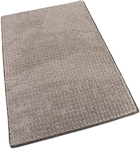 Koeckritz Oval 9 x12 Masonry Indoor Cut and Loop Area Rug Carpet Many Sizes and Shapes with Premium Fabric Finished Edges