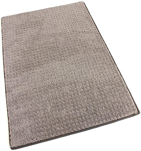 Koeckritz Oval 5 x8 Masonry Indoor Cut and Loop Area Rug Carpet Many Sizes and Shapes with Premium Fabric Finished Edges